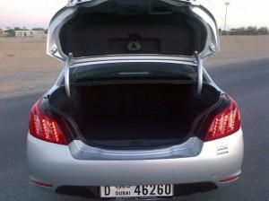 Фото: Peugeot 508 - багажник