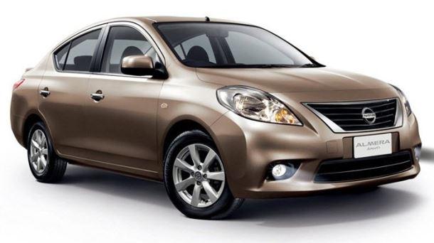 Фото: Экстерьер нового Nissan Almera 2013