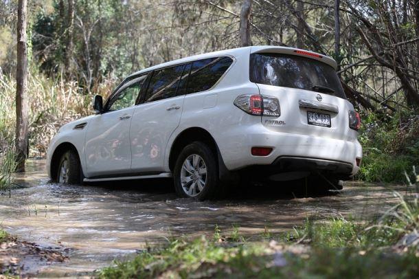 Фото: Бездорожье для Nissan Patrol не проблема