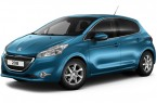 Фото: Peugeot 208 цвет Blue Belle-ile