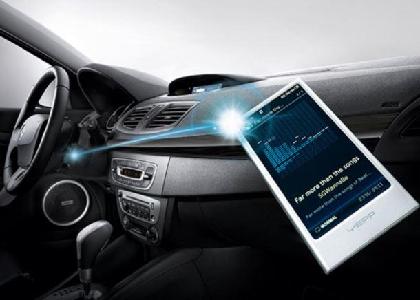 Фото: Ключ карта Renault Fluence