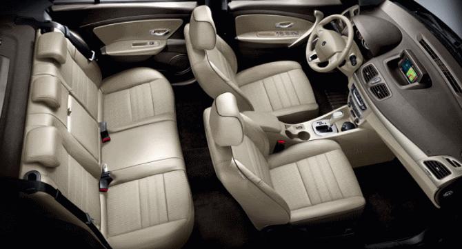 Фото: Салон Renault Fluence - топовая комплектация