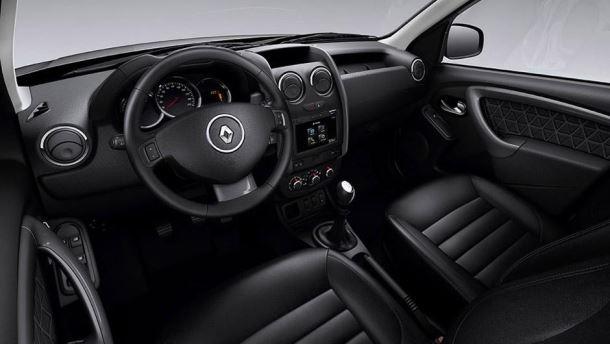Фото: Салон Renault Duster 2014