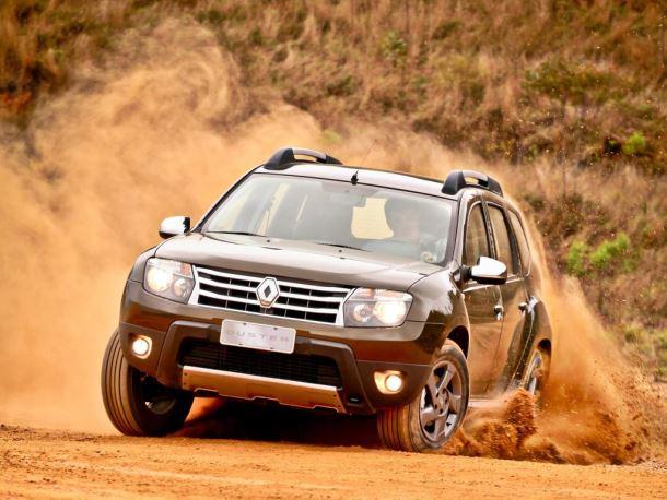 Фото: Renault Duster на бездорожье