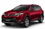 Фото: Toyota Rav 4 цвет красный