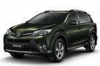 Фото: Toyota Rav 4 цвет темно-зеленый