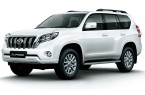 Фото: Toyota Land Cruiser Prado цвет Super White II