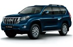 Фото: Toyota Land Cruiser Prado цвет Dark Blue Mica