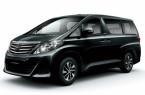 Фото: Toyota Alphard цвет черный