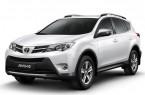 Фото: Toyota Rav 4 цвет белый