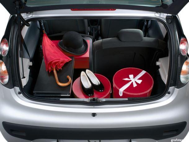 Фото: Багажник Citroen C1