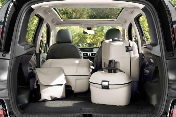 Фото: Вместительный багажник Citroen C3 Picasso