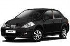 Фото: Nissan Tiida цвет черный