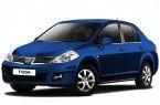 Фото: Nissan Tiida цвет темно-синий