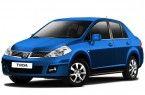 Фото: Nissan Tiida цвет ярко-синий