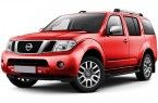 Фото: Nissan Pathfinder цвет темно-красный