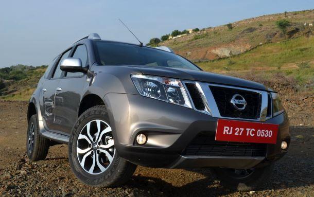 Фото: Nissan Terrano на бездорожье