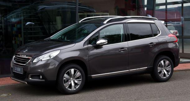 Фото: Peugeot 2008 внешний вид