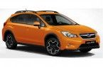 Фото: Subaru XV цвет Tangerine Orange Pearl