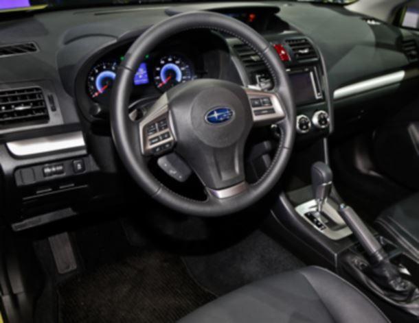 Фото: Место водителя Subaru XV