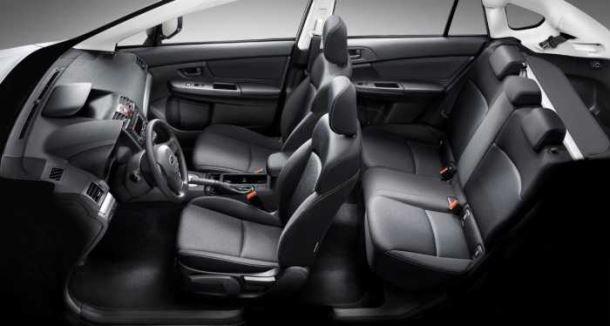 Фото: Салон Subaru XV кожаная отделка