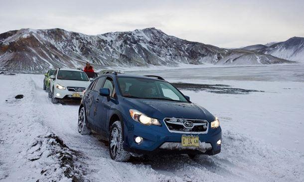 Фото: Subaru XV на бездорожье