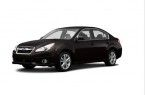 Фото: Subaru Legacy цвет Crystal Black Silica