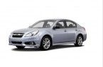 Фото: Subaru Legacy цвет Ice Silver Metallic