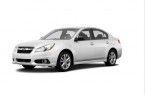 Фото: Subaru Legacy цвет Satin White Pearl