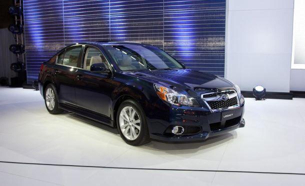Фото: Subaru Legacy 2013