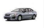 Фото: Subaru Impreza sedan цвет Ice Silver Metallic
