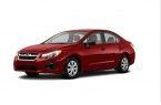 Фото: Subaru Impreza sedan цвет Venetian Red Pearl