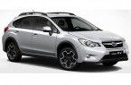 Фото: Subaru XV цвет Ice Silver Metallic