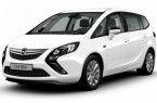 Фото: Opel Zafira Tourer цвет Summit White