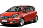 Фото: Opel Meriva 2014 цвет Magma Red