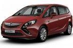 Фото: Opel Zafira Tourer цвет Glory Red