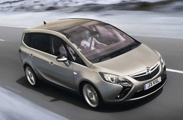 Фото: Opel Zafira Tourer 2014