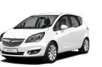 Фото: Opel Meriva 2014 цвет Casablanca White