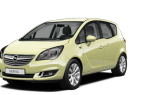 Фото: Opel Meriva 2014 цвет Limelight Green (Brimstone Solid)