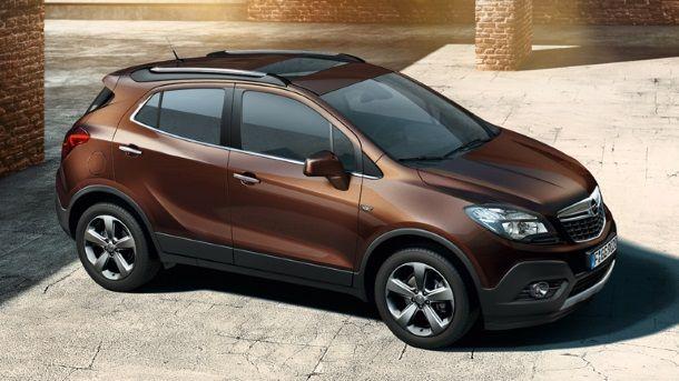 Фото: Новый Opel Mokka коричневого цвета