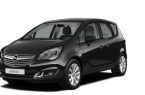 Фото: Opel Meriva 2014 цвет Carbon Flash