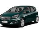 Фото: Opel Meriva 2014 цвет Emerald Green (Carrageen)