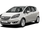 Фото: Opel Meriva 2014 цвет Switchblade Silver