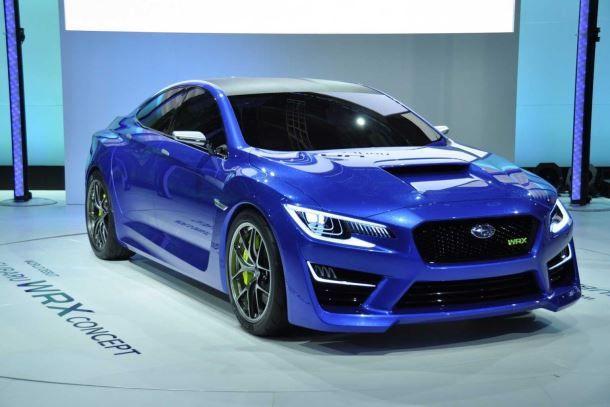 Фото: Subaru WRX concept