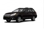 Фото: Subaru Outback 2014 цвет Crystal Black Silica