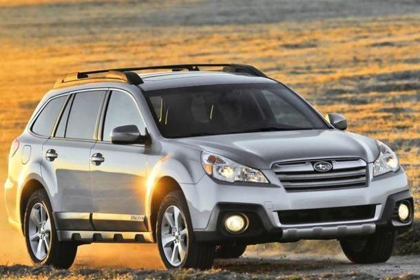 Фото: Subaru Outback после фейслифтинга 2014 года