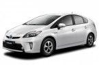 Фото: Toyota Prius ZVW30 цвет белый неметаллик