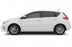 Фото: Toyota Auris 2013 цвет белый неметаллик