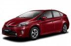 Фото: Toyota Prius ZVW30 цвет красный