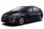 Фото: Toyota Prius ZVW30 цвет фиолетовый